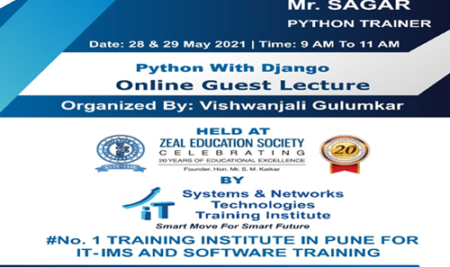 Online Guest Lecture on Python and Django